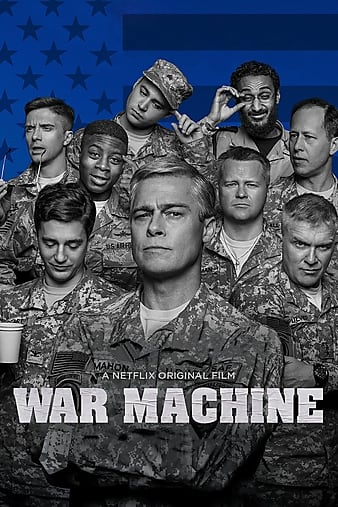 War Machine  2017 720p NF WEB-DL x264 AAC - Hon3y