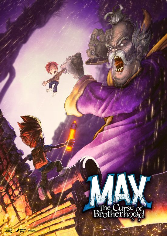 Max The Curse of Brotherhood-RELOADED