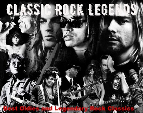 VA - Classic Rock Legends (2021) MP3 [320 kbps]