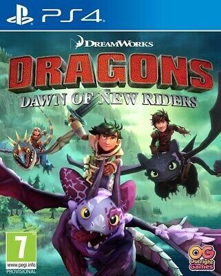 DreamWorks Dragons Dawn of New Riders PS4 PKG