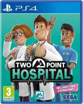 Two Point Hospital PS4 PKG