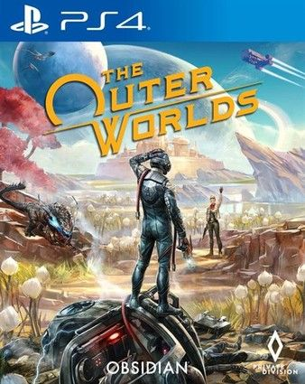 The Outer Worlds PS4 PKG