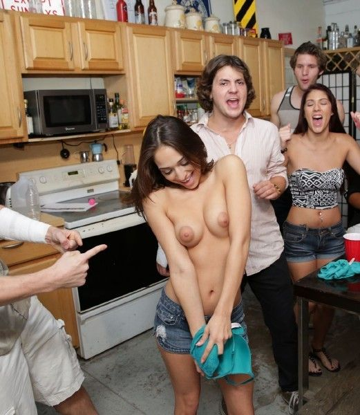 College Rules Party And Fuck