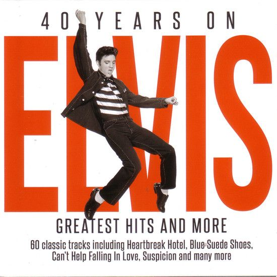 VA - Elvis Presley - 40 Years On - Greatest Hits (2017) MP3 [320 kbps]