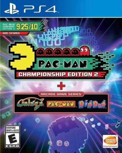 PacMan Championship Edition 2 and Arcade Game Series PS4-DUPLEX