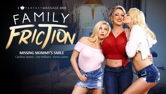 [AllGirlMassage] Carolina Sweets, Dee Williams, Kenna James – Missing Mommys Smile