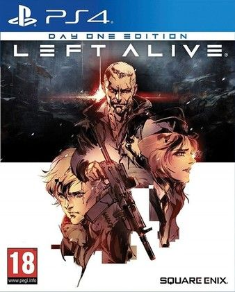 LEFT ALIVE DAY ONE EDITION PS4 PKG