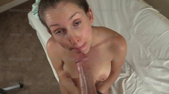 Blowjob cum in mouth swallow