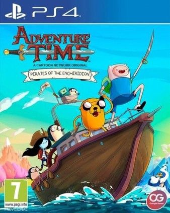 Adventure Time: Pirates of the Enchiridion PS4 PKG