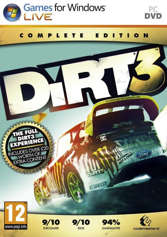 DiRT 3 Complete Edition MULTi5 PLAZA
