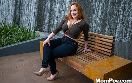 MomPov - Summer Heart - Perfect redhead MILF who is no amateur
