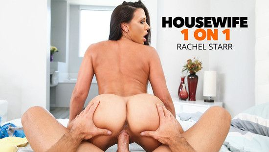 [Housewife1On1] Rachel Starr – (Kassandra Kelly (Rachel Starr) takes care of her husband's needs)